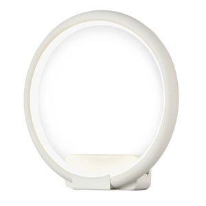 Maytoni Nástenné LED svietidlo Nola, uzavretý prstenec
