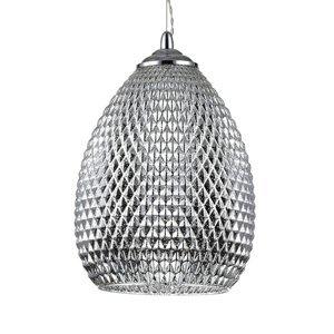 Maytoni Závesná lampa Moreno sklenené ornamenty Ø22cm