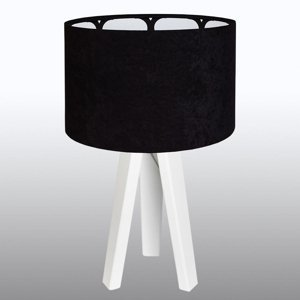 Maco Design Trojnohá retro stolná lampa Aurelia