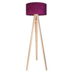 Maco Design Zamatová stojaca lampa Savanna, vnútorná potlač