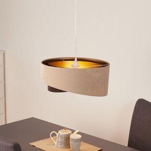 Maco Design Závesná lampa Arianna, vrstvený vzhľad, 2-farebná