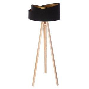 Maco Design Trojnohá stojaca lampa Emi s 2-farebným tienidlom