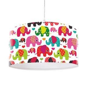 Maco Design Rozkošná detská závesná lampa Slon