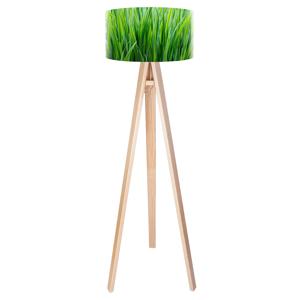 Maco Design Motív stebla trávy, potlačená stojaca lampa Flip