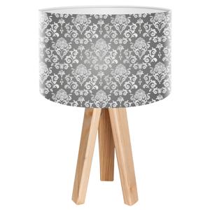 Maco Design Stolná lampa Louis s motívom rokoko