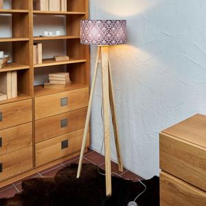 Maco Design Stojaca lampa Louis s motívom rokoko