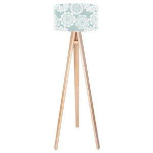 Maco Design Romantická stojaca lampa Tilda v mäkkých farbách