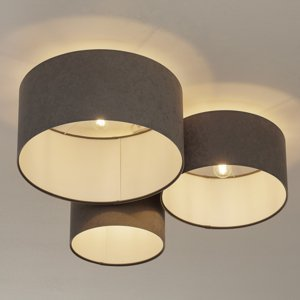 Maco Design Stropné svietidlo 080 3-plameňové svetlosivá/biela