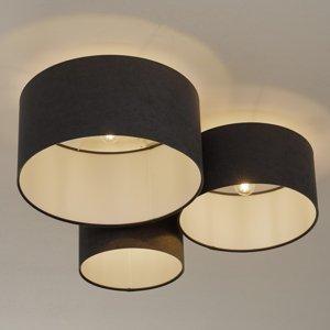 Maco Design Stropné svietidlo 080 3-pl. tmavosivé/biele