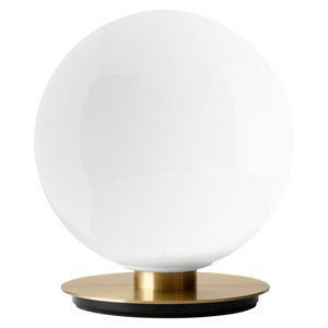 MENU Menu TR Bulb stolná lampa 22cm mosadz/opál lesklá