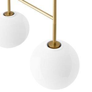 MENU Menu TR Bulb DTW závesná LED 4p mosadz/opál lesklá