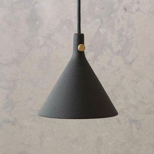 MENU Menu Cast závesné LED svietidlo v čiernej, Shape 1