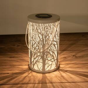 Näve Solárna LED lucerna 5266523 s motívom lesa