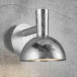 Nordlux Vonkajšie nástenné svietidlo Arki chróm Ø 20cm