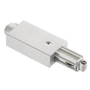 Nordlux Koncový napájač pre VN koľajnicu Link, biely