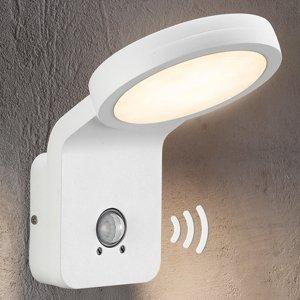 Nordlux Vonkajšie nástenné LED Marina IČ snímač biele