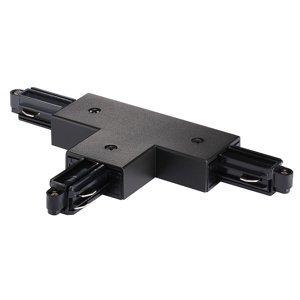 Nordlux T konektor pre prívodnú koľajnicu vpravo, čierny