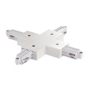 Nordlux X konektor pre prívodnú koľajnicu Link, biely