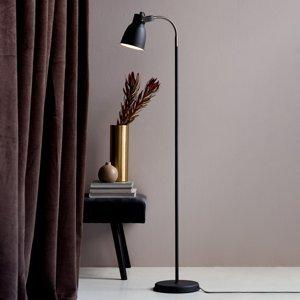 Nordlux Stojaca lampa Adrian z kovu, čierna