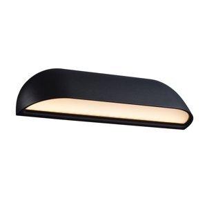 Nordlux Vonkajšie nástenné LED svietidlo Front 26, čierne