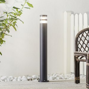 Nordlux Chodníkové svietidlo Birk s účinným svetlom čierne