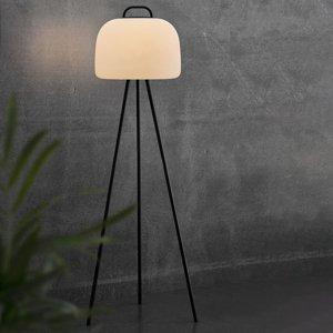Nordlux LED stojaca lampa Kettle Tripod kov, tienidlo 36cm