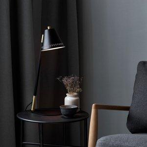Nordlux Stolná lampa Pine, čierna