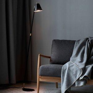 Nordlux Stojaca lampa Pine, čierna