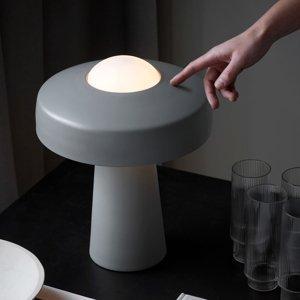 Nordlux Stolná lampa Time, sivá