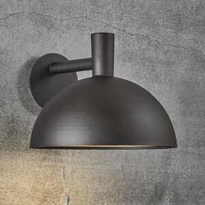 Nordlux Vonkajšie nástenné svietidlo Arki čierna Ø 35cm