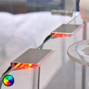 Nino Leuchten RGB-LED Clip pre podlinkové osvetlenie 2 kusy