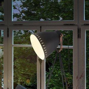 Nino Leuchten Stojaca lampa Makky trojnožka v čiernej