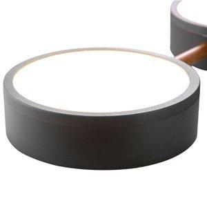 Nino Leuchten Stropné LED svietidlo Diego, päť-plameňové