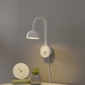 Northern Northern Blush nástenné LED svietidlo, biele