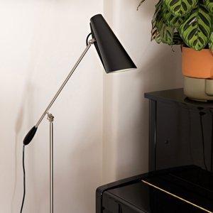 Northern Northern Birdy – stojaca lampa v čiernej, oceľovej