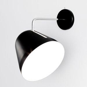 NYTA Nyta Tilt Wall nástenné svietidlo, čierne