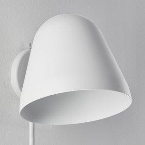 NYTA Nyta Tilt Wall nástenné svietidlo zástrčka, biele