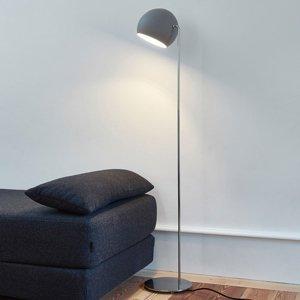 NYTA Nyta Tilt Globe Floor stojaca lampa oceľ, sivá