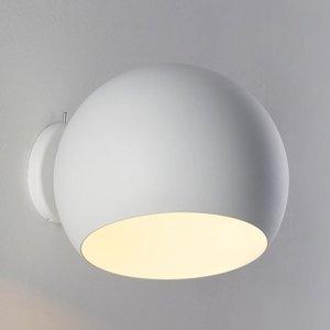 NYTA Nyta Tilt Globe Wall Short nástenné svetlo biele