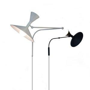 NEMO Nemo Lampe de Marseille nástenné svietidlo, čierne