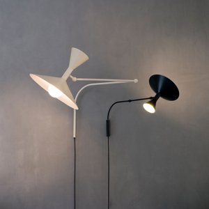 NEMO Nemo Mini Lampe de Marseille nástenné čierne