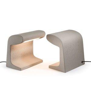 NEMO Nemo Borne soklové LED svietidlo betón výška 31cm