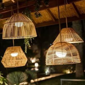 NEWGARDEN Newgarden Reona závesné LED svietidlo s batériou