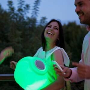 NEWGARDEN Newgarden Robin LED svietidlo s reproduktorom