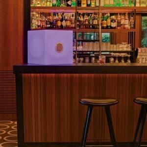 NEWGARDEN Newgarden Cuby Play LED kocka batéria 43 x 43 cm