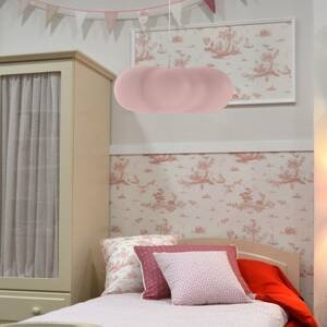 NEWGARDEN Newgarden Claudy závesná lampa tvar oblaku, ružová