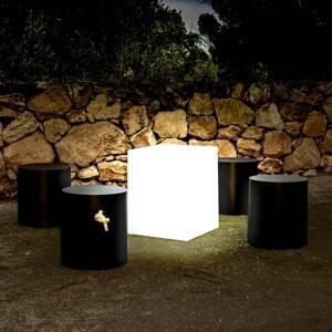 NEWGARDEN Newgarden Cuby dekoračné svetlo kocka výška 53cm