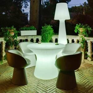 NEWGARDEN Newgarden Capri LED stôl, výška 73 cm