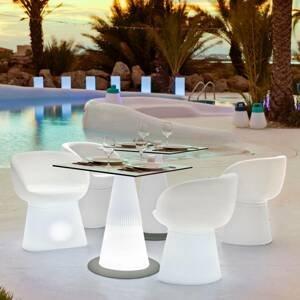NEWGARDEN Newgarden Itaca LED stôl, solár + batéria