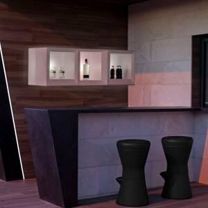 NEWGARDEN Newgarden Bricky regál LED kocka biela RGBW